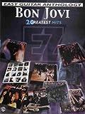 Bon Jovi -- Easy Guitar Anthology: 20 Greatest Hits (Easy (EZ) Guitar Anthology) by Bon Jovi (2001-12-01)