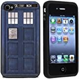 TARDIS Police Call Box Case / Cover For Apple iPhone 4 or 4s by Atomic Market
