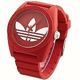 アディダス オリジナルス ADIDAS ORIGINALS 腕時計 SANTIAGO サンティアゴ ADH6168 レッド×ホワイト トレイフォルロゴ
