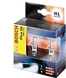 Bosch Car Light Bulb H1 50 Plus Life 12 V / 55 W Double Box