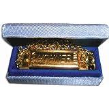 Hohner 37C Mini Harmonica, Key of C Major with Chain