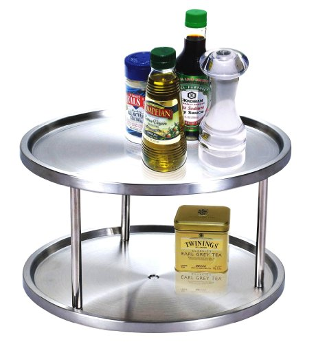 Cook N Home 10-1/2-Inch 2 Tier Lazy Susan (Turntable Spice Rack compare prices)