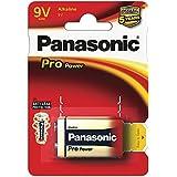 Panasonic Stromversorgung Energie Batterien Pro Power Gold 9V 6LR61PPG/1BP