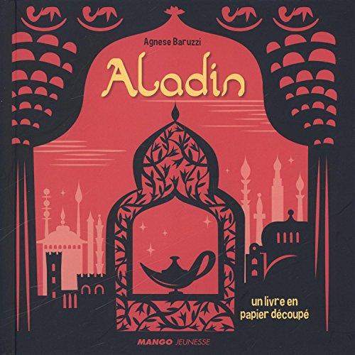 Aladin : un livre en papier découpé