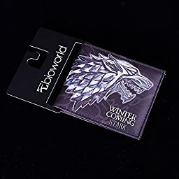 OK-STORE A Song of Ice and Fire Game of Thrones Stark of Winterfell Family Logo Pu Wallet (Stark of Winterfell)