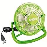 mumbi USB Ventilator - Mini USB Fan grün für den