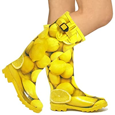 Yellow Hunter Wellington Boots