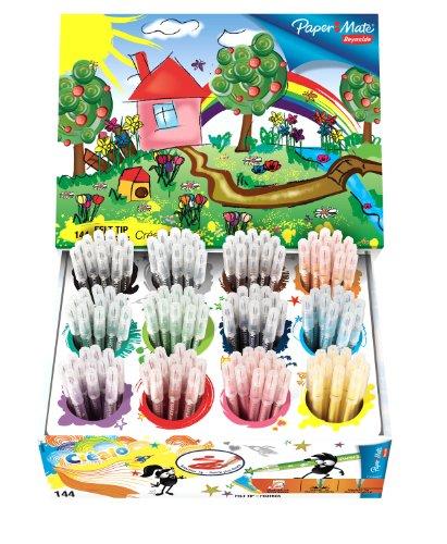 paper-mate-reynolds-crealo-x-144-felt-tip-pens