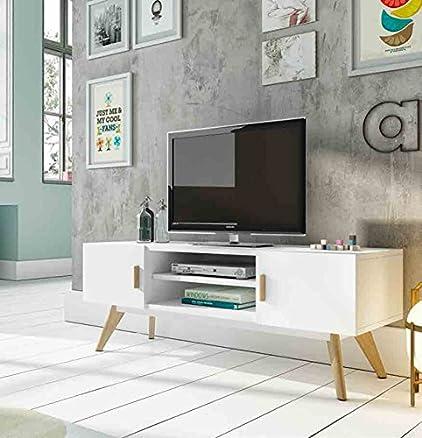 Tavolini TV in legno: modello Svezia