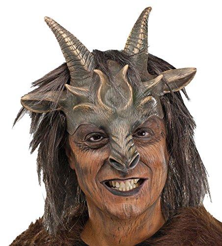 [Satyr Face Mask] (Satyr Halloween Costumes)