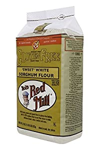 Bob's Red Mill Gf Sweet White Sorghum Flour, 22-Ounce (Pack of 4)
