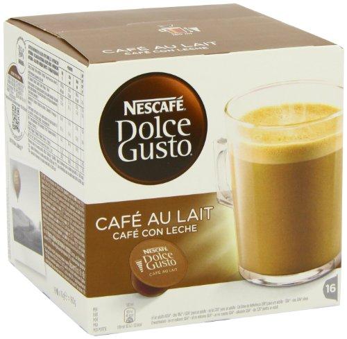 nescafe dolce gusto cafe au lait pack of 3 total 48. Black Bedroom Furniture Sets. Home Design Ideas