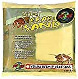 Zoo Med Laboratories SZMHC2Y Hermit Crab, 2-Pound, Sand Yellow
