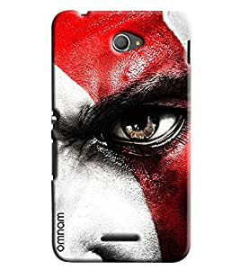 Omnam Boy With Closeup Eye Effect Printed Designer Back Cover Case For Sony Xperia E4
