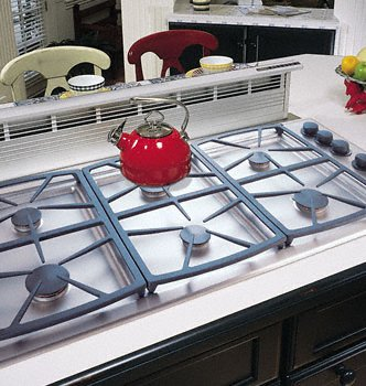 Dacor Preference 46 In. Black Gas Cooktop - Sgm466Bh front-517418
