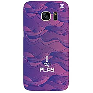 I Want To Play - Mobile Back Case Cover For Samsung Galaxy Note 7