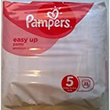 Pampers Easy Up Pants Junior Size 5 (12-18kg 26-40lbs) - 1 x 23 pack