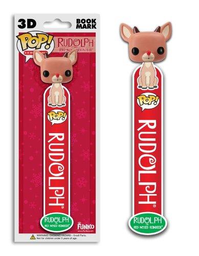 Funko Pop! Vinyl Rudolph the Red Nosed Reindeer 3D Bookmark