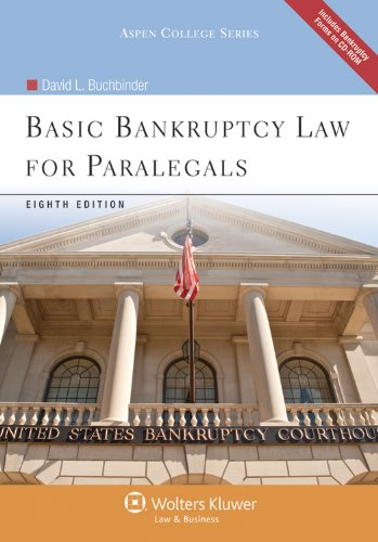 Basic Bankruptcy Law for Paralegals 8th Edition W/ CD...