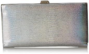 Lodis Petaluma Quinn Wallet,Platinum,One Size