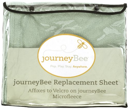 Parentlab Microfleece Replacement Sheets, Sage (Discontinued by Manufacturer)
