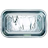 BHL Glass Cow Butter Dish With Lidby PureNature