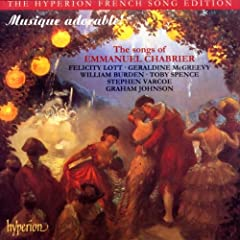 Musique adorable ! The songs of Emmanuel Chabrrier