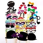 58 Pcs. Party Photo trim mustache gla...