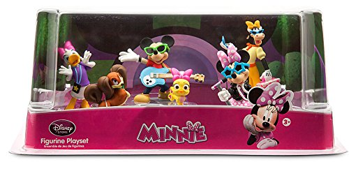 Disney Mickey Mouse Minnie Rock Star PVC Figures