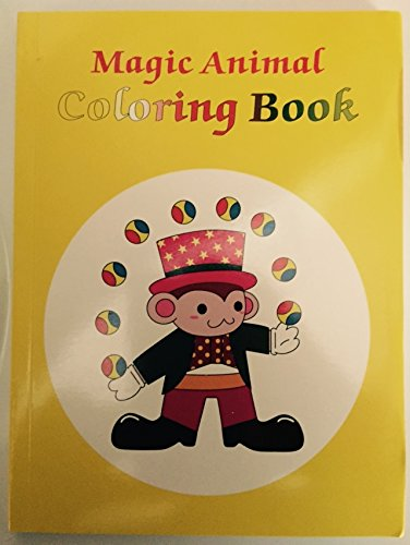 Magician's Magic Animal Coloring Book (Trick for kids)