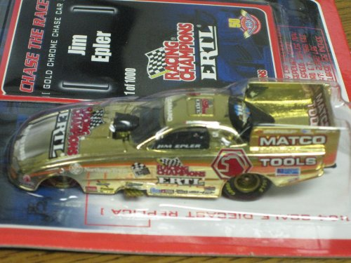Racing Champions Nhra Rare Gold Chrome Chase The Race Jim Epler Erlt 1:64 Die-Cast Replica front-763716