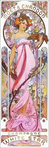 poster-30-x-90-cm-moet-chandon-white-star-rose-de-alfons-mucha-reproduction-haut-de-gamme-nouveau-po