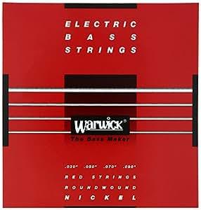WARWICK ワーウィック エレクトリック・ベース 弦 46220 RED Nickel 4-Strings Set Extra Light 030/090
