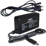 HQRP Chargeur Adaptateur Secteur pour Canon CA-590 / CA590 / CA-590 / CA590E, FS10, FS100, FS11 Caméscope