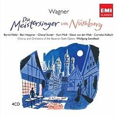 Die Meistersinger Von N�rnberg, Zweiter Akt/Act 2/Deuxieme Scene, Sechste Szene/Scene 6/Sixi�me Sc�ne: Seid Ihr Nun Fertig? (Sachs/Beckmesser/David/Nachbaren)
