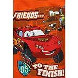 Disney Cars Friends... Orange LS T-Shirt w/ Knit Cuffs 2T-4T