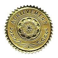 Gold Foil Certificate Seals,