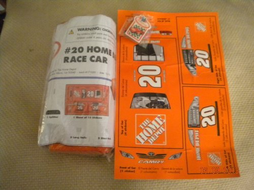 Kids Workshop #20 Home Depot Wooden Race Car Kit - 1