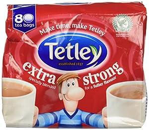 Tetley Extra Strong Tea Bags 80ct