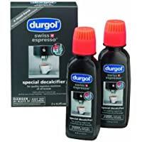 Durgol 0291 Swiss Espresso Decalcifying Liquid for Coffee/Espresso Machines 2-bottle, 4.2 oz
