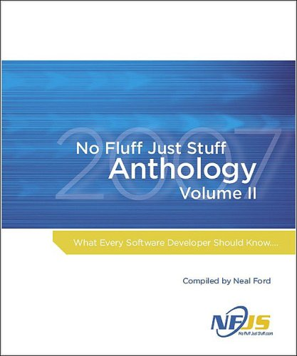 No Fluff, Just Stuff Anthology The 2007 Edition