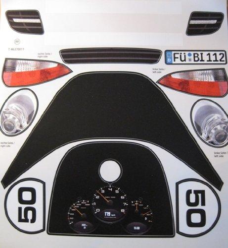 bobbycars de big bobby car stickers aufklebersatz porsche. Black Bedroom Furniture Sets. Home Design Ideas