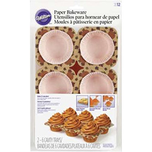 [Wilton 415-2399 Autumn Paper Bakeware, Assorted] (Halloween Pull Apart Cupcakes)