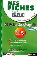Mes fiches ABC du BAC Histoire Géographie 1re S