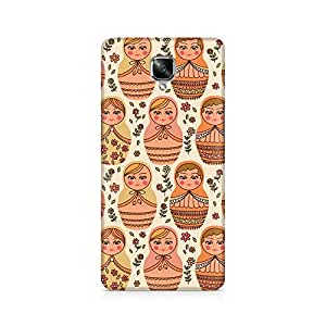 Ebby Lovely Dolls Premium Printed Case For OnePlus Three