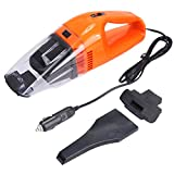 Car Vacuum Cleaner, XKTTSUEERCRR 120W 12V Lightweight Portable Mini Car Wet Dry Handheld Automotive Vacuum Cleaner