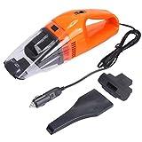 Car Vacuum Cleaner, XKTTSUEERCRR 120W 12V Lightweight Portable Mini Car Wet Dry Handheld Automotive Vacuum Cleaner