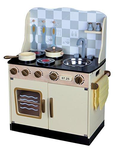 Leomark cucina vintage giocattolo in legno cucina - Cucina bambini amazon ...