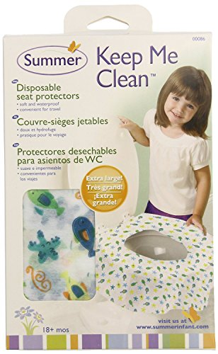 Summer Infant Keep Me Clean Disposable Potty Protectors, - 45 Count - 1