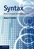 img - for Syntax: Basic Concepts and Applications book / textbook / text book